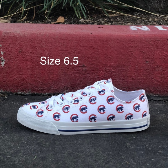 Row One Shoes - Row One Chicago Cubs Victory Sneakers| Sz 6.5